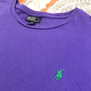 Purple polo T-shirt size xxl
